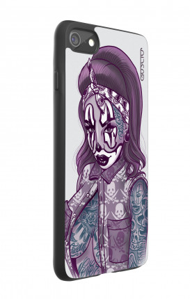 Cover Bicomponente Apple iPhone 7/8 - Pin Up Clown Chicana