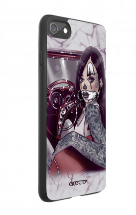 Cover Bicomponente Apple iPhone 7/8 - Pin Up Chicana in auto