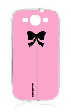 Cover Samsung Galaxy S3/S3 Neo - Fiocco rosa