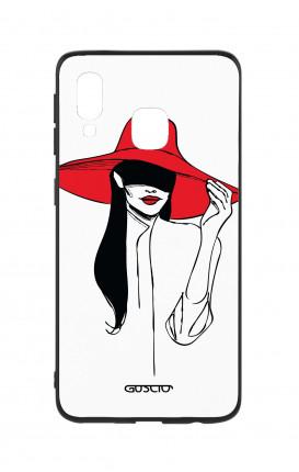 Cover Bicomponente Samsung A20e - Cappello rosso