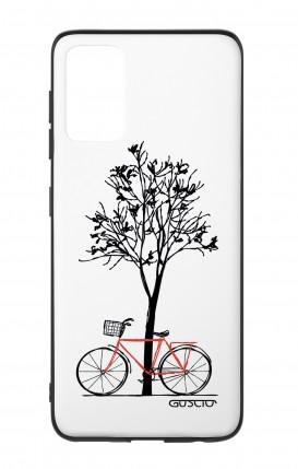 Cover Bicomponente Samsung S20Plus - Albero e bicicletta