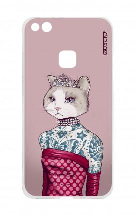 Cover Huawei P10 Lite - Gattina principessa