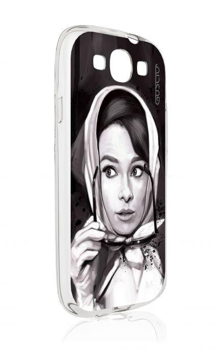 Cover Samsung Galaxy S3 GT i9300 - Audrey Foulard