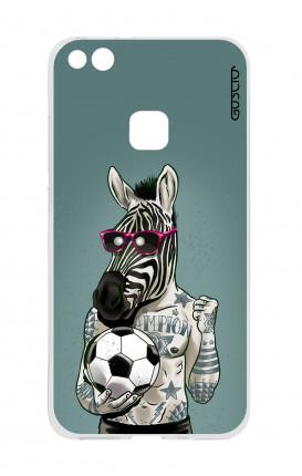 Cover TPU Huawei P10 Lite - Zebra