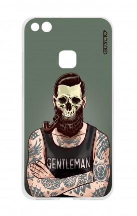 Cover Huawei P10 Lite - Teschio gentiluomo