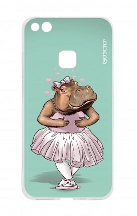 Cover Huawei P10 Lite - Ippopotamo ballerina