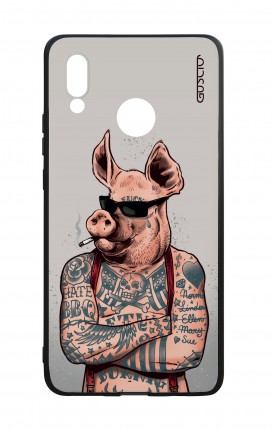 Huawei P20Lite WHT Two-Component Cover - Hate BBQ