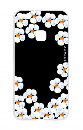 Cover Huawei P10 Lite - Fiori bianchi