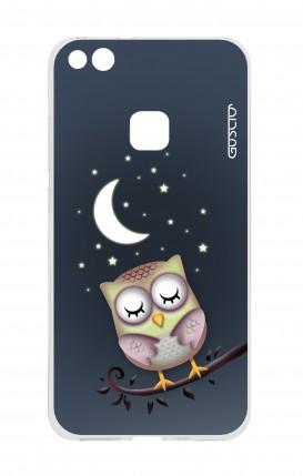 Cover Huawei P10 Lite - Gufo nella notte