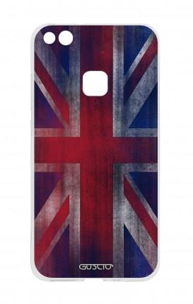 Cover Huawei P10 Lite - Bandiera inglese vintage