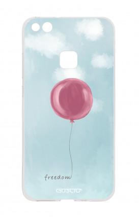 Cover TPU Huawei P10 Lite - palloncino della libertà