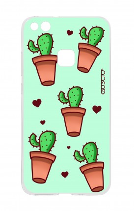 Cover Huawei P10 Lite - Cactus Pattern