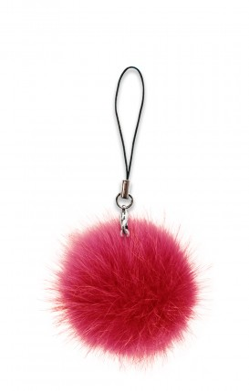 PomPom Ecofur RED - Neutro