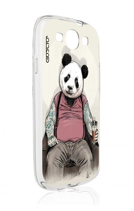Cover Samsung Galaxy S3 GT i9300 - Beer Panda