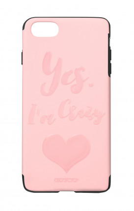 Cover Skin Feeling Apple iphone 7/8 PINK - Yes. I'm Crazy
