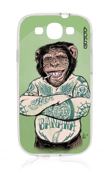 Cover Samsung Galaxy S3 GT i9300 - Monkey Tattoo