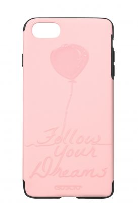 Cover Skin Feeling Apple iphone 7/8Plus PNK - Follow your dream