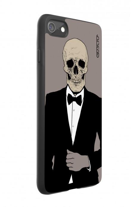 Cover Bicomponente Apple iPhone 7/8 - Teschio in Smoking