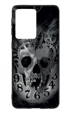 Cover Samsung S20 Ultra - Skull & Clock
