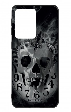 Cover Samsung S20 Ultra - Skull & Clock