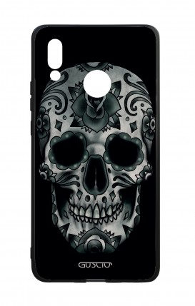 Cover Bicomponente Huawei P20Lite - Dark Calavera Skull