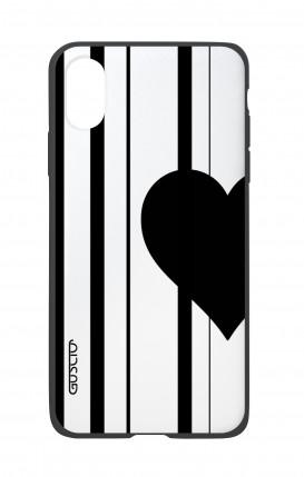 Cover Bicomponente Apple iPhone XS MAX - Cuore a metà