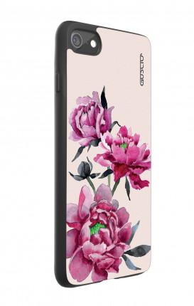 Cover Bicomponente Apple iPhone 7/8 - Peonie rosa