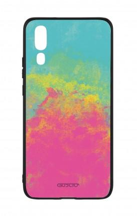 Cover Bicomponente Huawei P20 - Mineral FuxiaTiffany