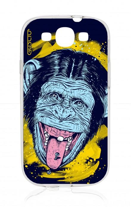 Cover Samsung Galaxy S3/S3 Neo - Scimmia linguaccia