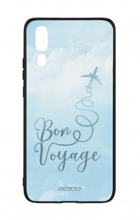 Huawei P20 WHT Two-Component Cover - Bon Voyage