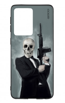 Cover Samsung S20 Ultra - Skull with Tommy-Gun