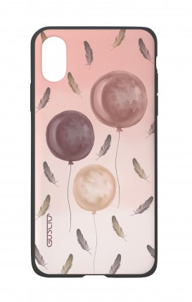 Apple iPh XS MAX WHT Two-Component Cover - Light as feathers