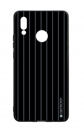 Huawei P20Lite WHT Two-Component Cover - Classic Stripes