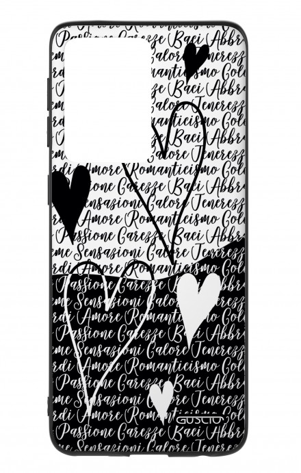 Cover Samsung S20 Ultra - Black & White Writings