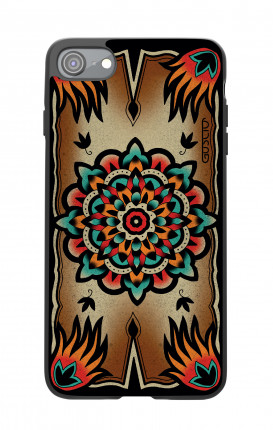 Cover Bicomponente Apple iPhone 7/8 - Old school Tattoo frame