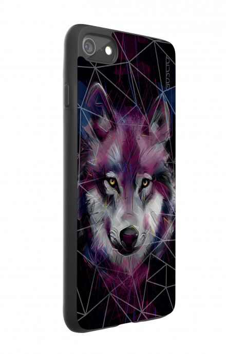 Apple iPhone 7/8 White Two-Component Cover - Neon Wolf