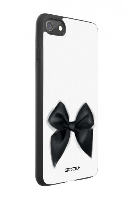 Cover Bicomponente Apple iPhone 7/8 - Fiocco nero