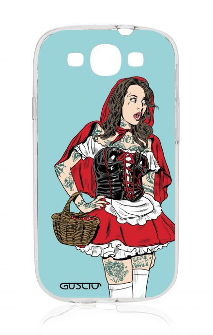 Cover Samsung Galaxy S3/S3 Neo - Pin Up Cappuccetto Rosso