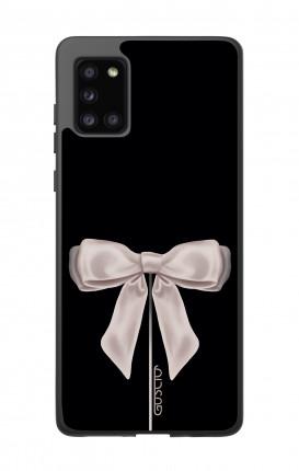 Cover Bicomponente Samsung A31s - Fiocco di raso