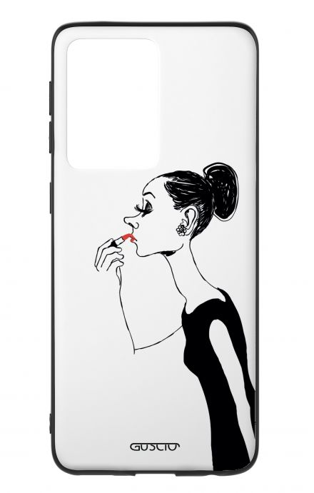 Cover Samsung S20 Ultra - Lady with Lipstick
