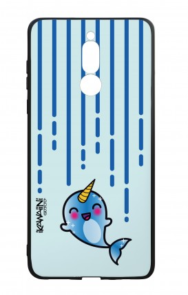 Huawei Mate10Lite WHT Two-Component Cover - Narwhal Kawaii