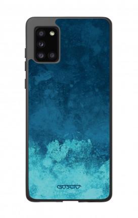 Cover Bicomponente Samsung A31s - Mineral Pacific Blue
