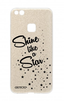 Cover GLITTER Huawei P10Lite GLD - Shine Like a Star