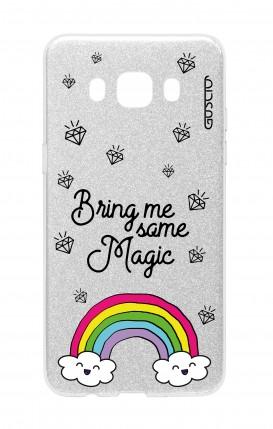 Cover GLITTER Samsung J5 2016 SLV - l'arcobaleno magico