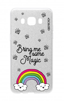 Cover GLITTER Samsung J5 2016 SLV - Raimbow magic