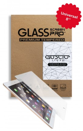 "Tempered Glass Universal 8"" Tablet - Neutro"