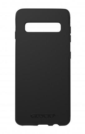 Cover Skin Feeling Samsung S10 BLACK - Logo