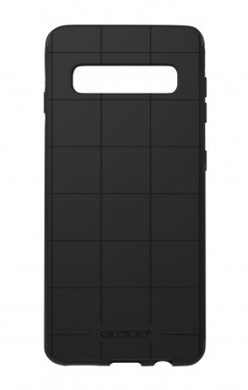 Case Skin Feeling Samsung S10 BLK - Check