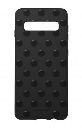 Cover Skin Feeling Samsung S10 BLACK - Pois