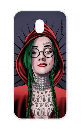 Cover TPU Samsung Galaxy J5 2017 - Cappuccetto rosso tatuata